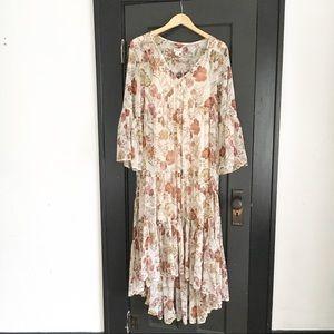 Target Mossimo Boho Floral Dress Small